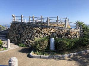 歴史の見える丘公園頂上