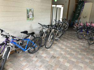 道の駅蒜山高原レンタルマウンテンクロスバイク
