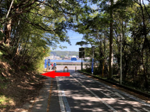 生口橋自転車歩行者道出口