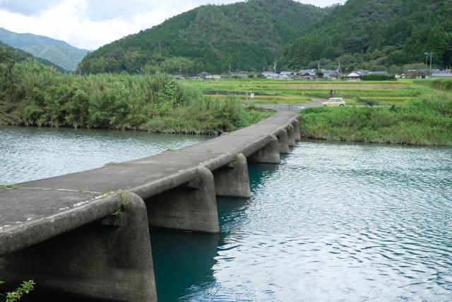 四国高知沈下橋