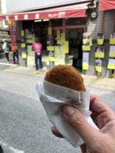 岡哲商店のビーフコロッケ