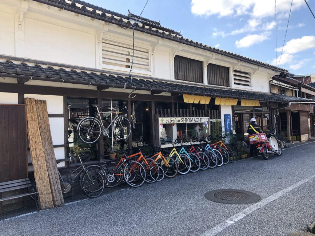 自転車カフェ&バー 汐待亭
