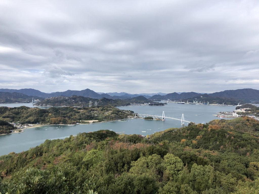 久司山展望台からの眺め